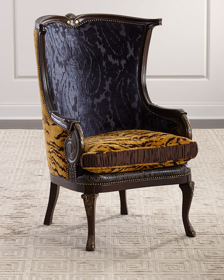 Massoud Audra Wing Chair