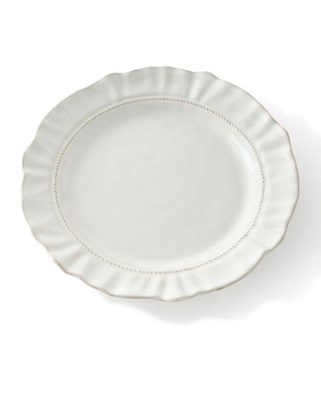 Juliska Madeleine Whitewash Dinner Plate
