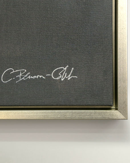 "Benson-Cobb Studios ""The Crossing in Blue"" Canvas Giclee Wall Art by Carol Benson Cobb"