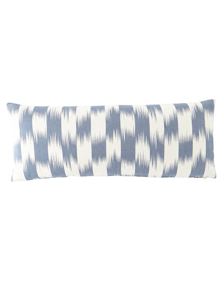"""French Laundry Home Checkerboard Pillow, 15"""" x 34"""""""
