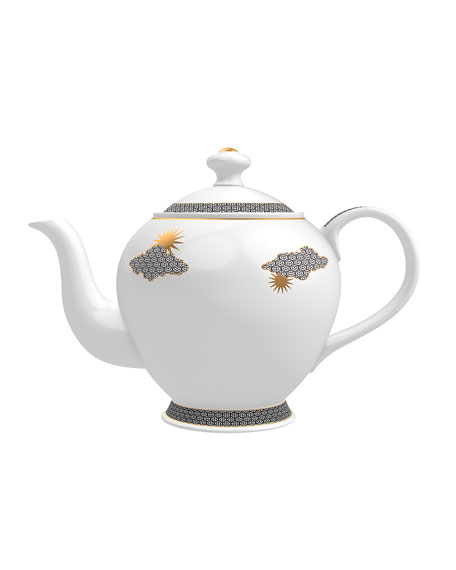 Memo Paris Grapefruit from Inle Candle in Tea Pot