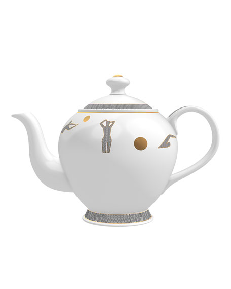 Memo Paris Jasmine from Ilha do Mel Candle in Tea Pot
