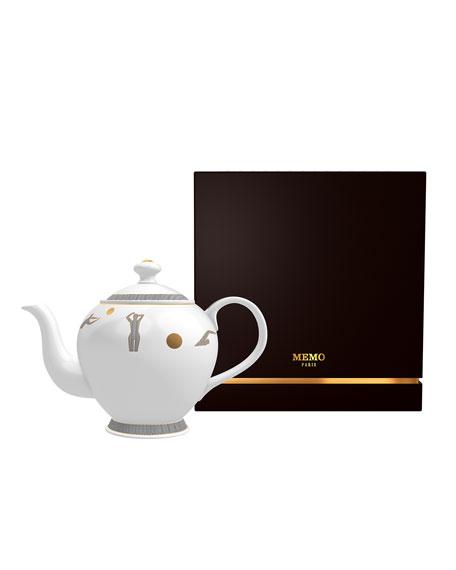 Memo Paris Caramel from Kedu Candle in Tea Pot