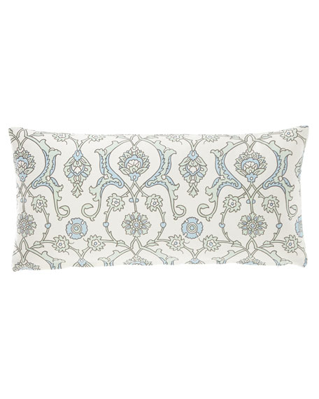 """French Laundry Home Medallion Pillow, 12"""" x 24"""""""