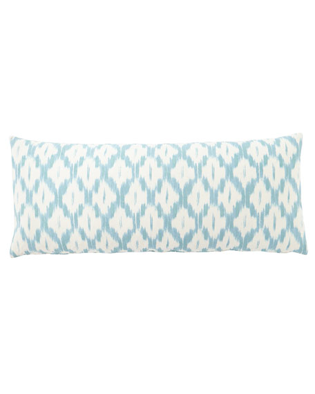 "French Laundry Home Diamond Dot Pillow, 15"" x 34"""