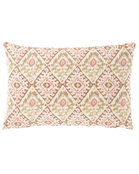 "French Laundry Home Diamond Pillow, 14"" x 20"""