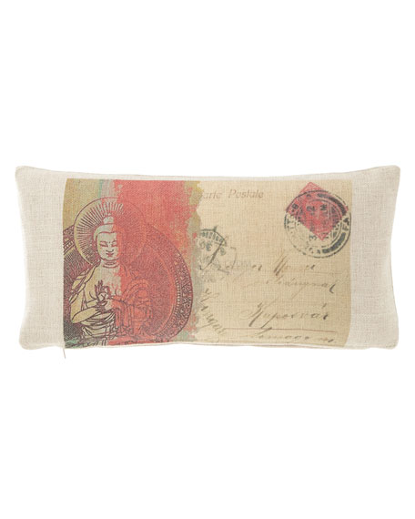 "French Laundry Home Canvas Pillow, 10"" x 20"""