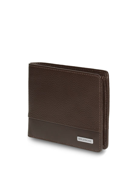Moleskine Leather Horizontal Wallet