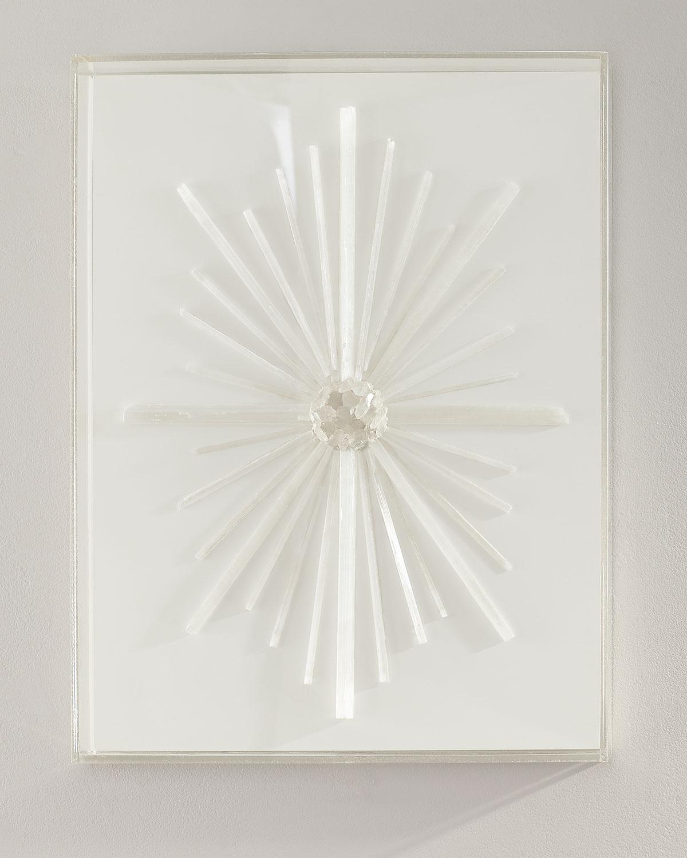 Selenite Raw Crystal Slab Positive Energy Decor for Chakra  Decorating With Selenite