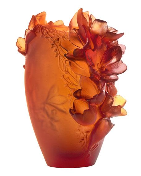 Daum Safran Vase, Medium