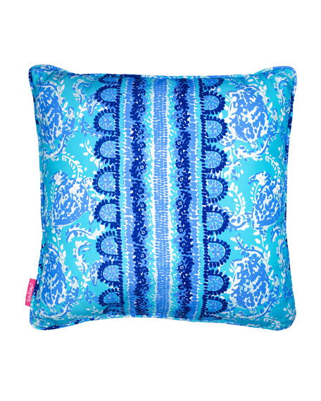 Lilly Pulitzer Turtley Awesome Large Pillow