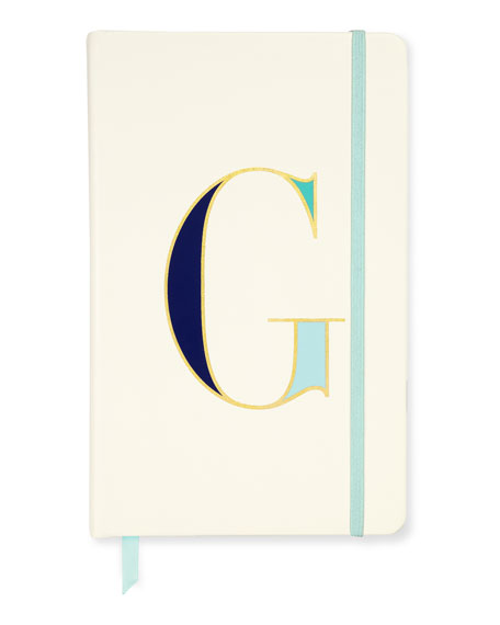kate spade new york take note large g notebook