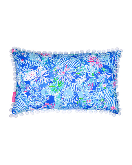 Lilly Pulitzer Lion Around Pillow