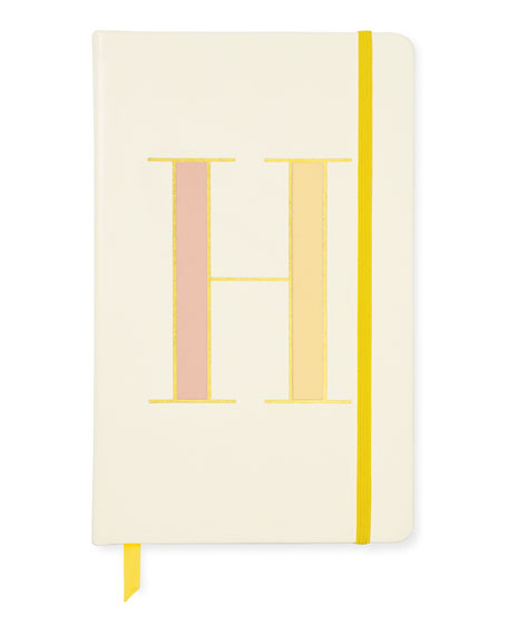 kate spade new york take note large h notebook