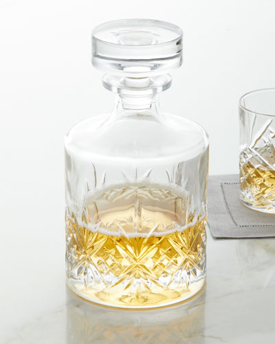 Dublin Round Whiskey Decanter