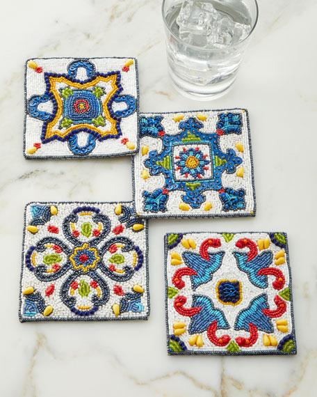 Kim Seybert Seville Coasters, Set of 4