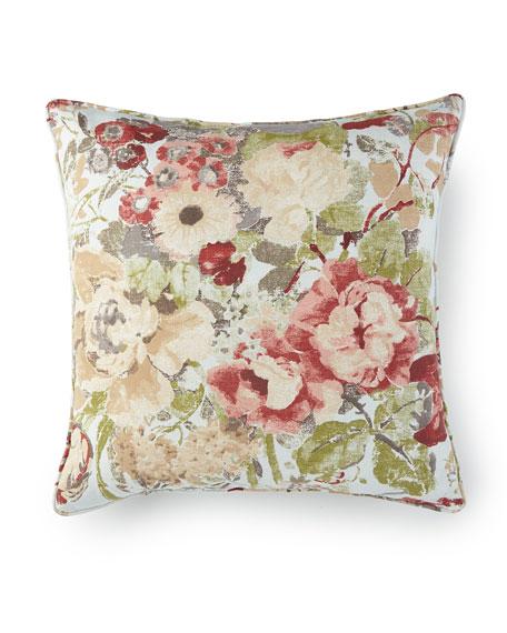 "Rose Tree Lorraine Pillow, 20""Sq."
