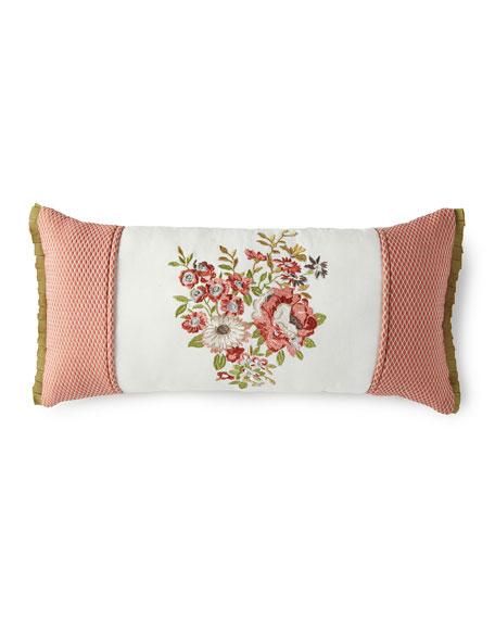 "Rose Tree Lorraine Pillow, 11"" x 22"""