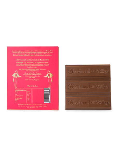 Image 2 of 2: Charbonnel Et Walker Butler's Pantry Hazelnut Milk Chocolate Bar