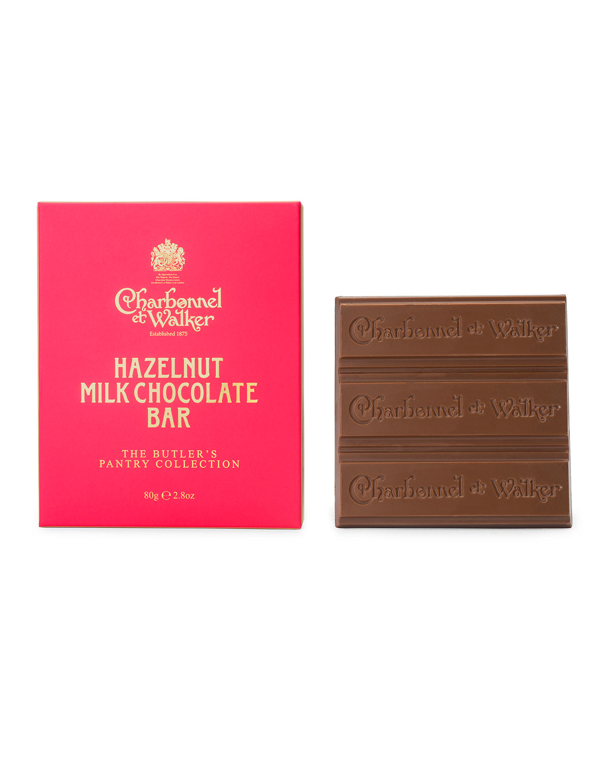 Charbonnel Et Walker Butler's Pantry Hazelnut Milk Chocolate Bar