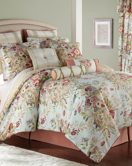 Rose Tree Lorraine 4-Piece Queen Comforter Set