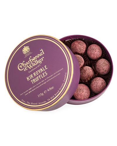 Kir Royale Truffles