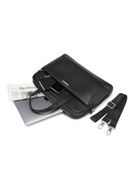 Moleskine Leather Slim Briefcase