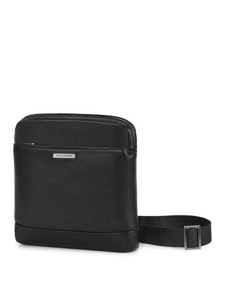 Moleskine Leather Crossover Bag