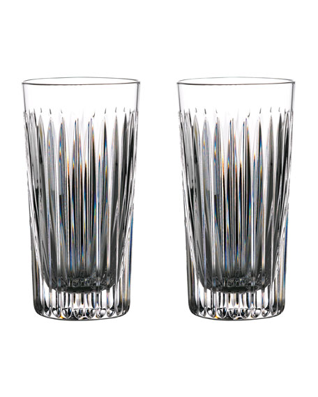 Waterford Crystal Gin Journey Aras Highball Glasses, Set of 2