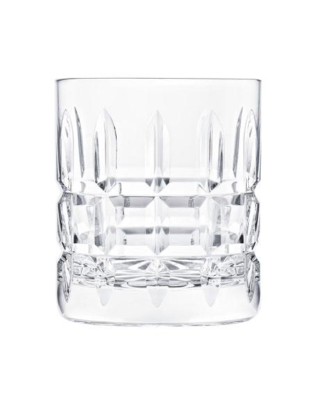 Saint Louis Crystal Manhattan Double Rock Glass