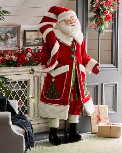 Life-Size Christmas Santa