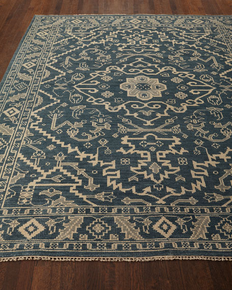 """Shepard Hand-Knotted Rug, 5' x 7'6"""""""