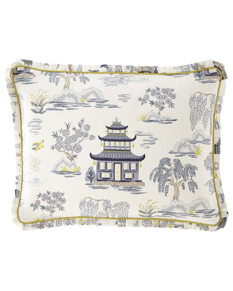 Legacy Shang Pagoda Full/Queen Duvet Set