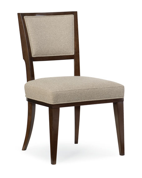 caracole Pair of Moderne Side Chairs