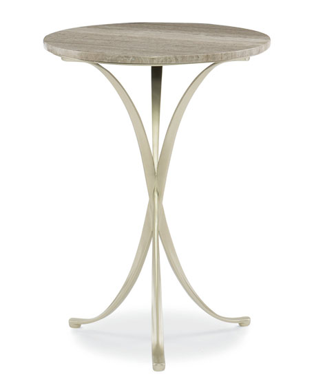 caracole Rolling Stone Accent Table
