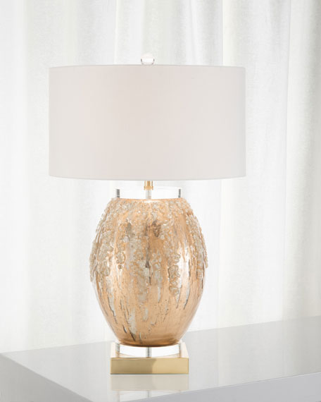 John-Richard Collection Ethereal Silvered Lamp
