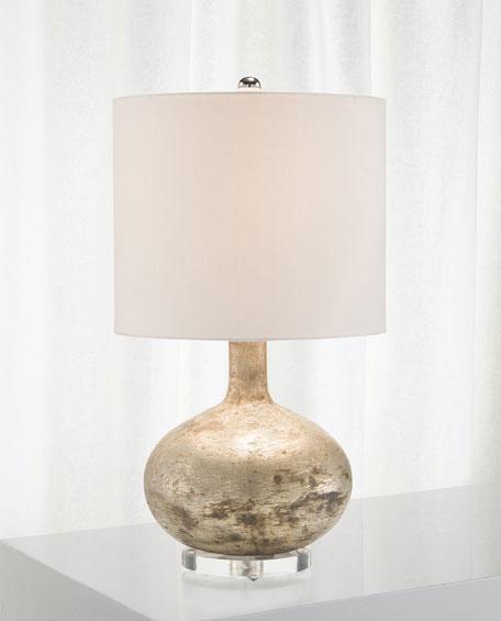 John-Richard Collection Glass Textured Table Lamp