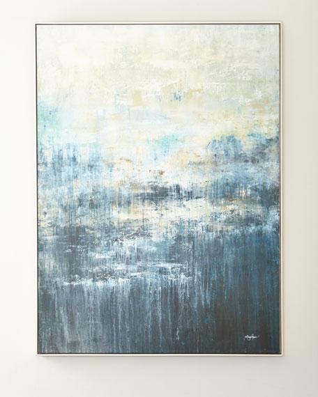 "John-Richard Collection ""Blue Falls"" Giclee Canvas Art by Shaye Rawson"
