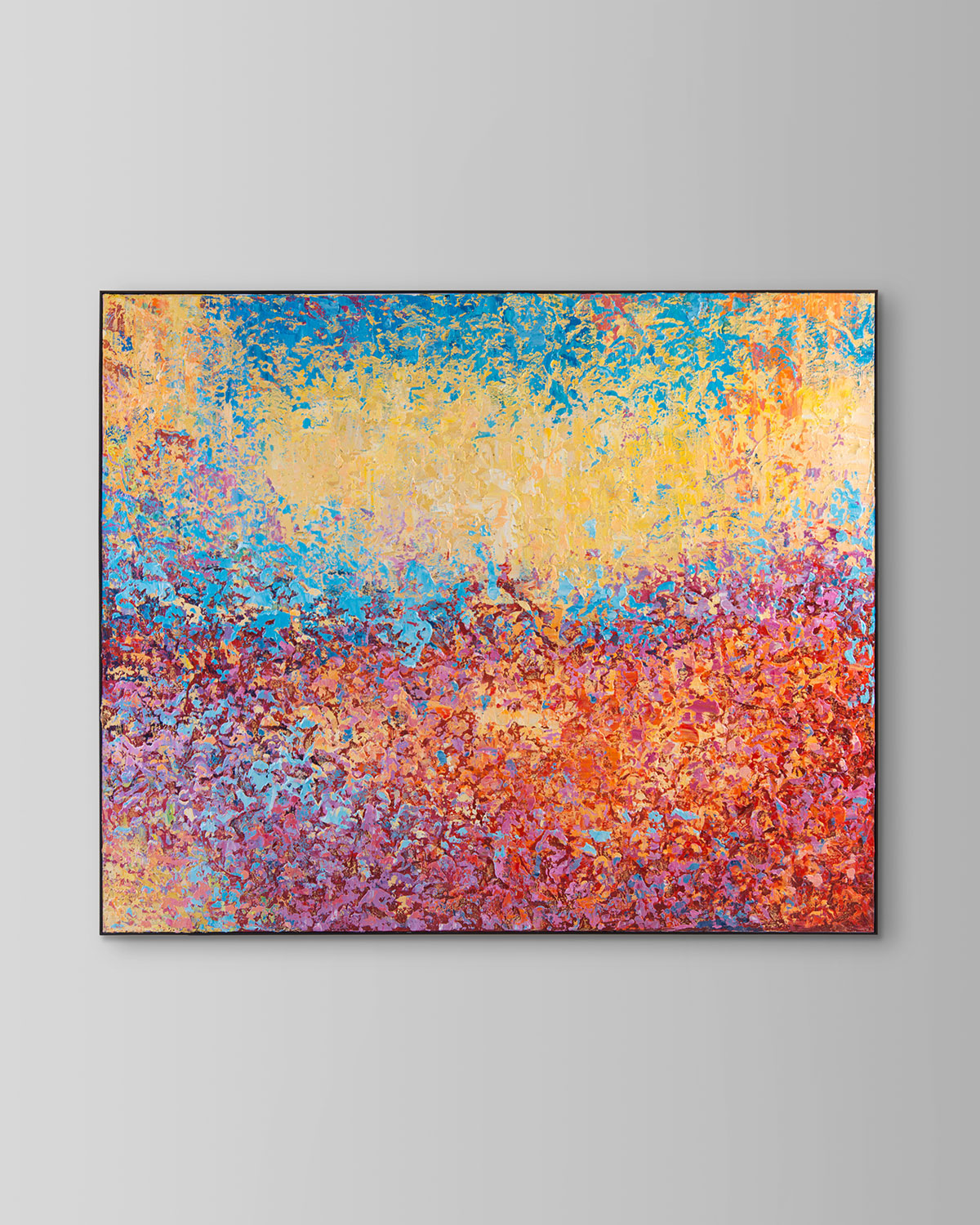 "John-Richard Collection ""Motley"" Giclee Canvas Art by Ja Ding"
