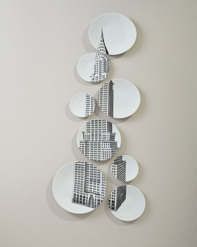 Chrysler Building Plate Set