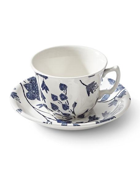 Ralph Lauren Home Garden Vine Tea Cup & Saucer