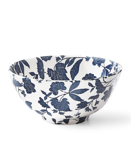 Ralph Lauren Home Garden Vine Large Footed Bowl
