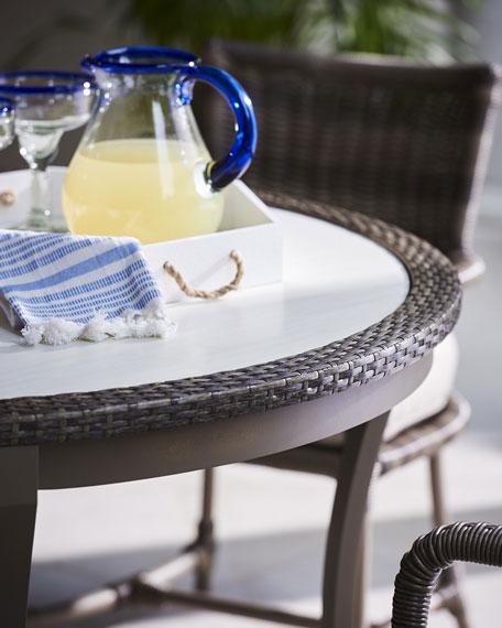 Lane Venture Oasis Round Dining Table
