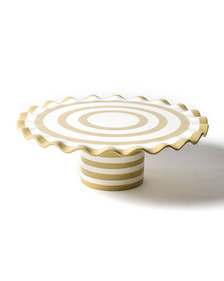 Coton Colors Spot on 14 Ruffle Cake Stand