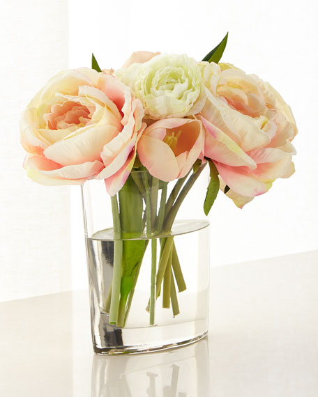 John-Richard Collection Soft Kisses Floral Arrangement