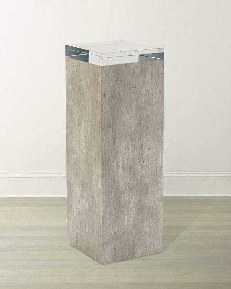 John-Richard Collection Piazza Pedestal Table