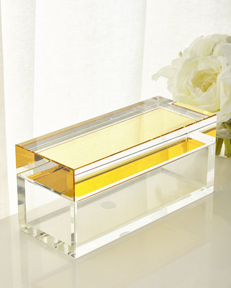 John-Richard Collection Saffron Crystal Box