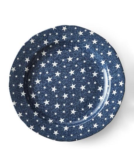 Ralph Lauren Home Midnight Sky Dinner Plate, Blue