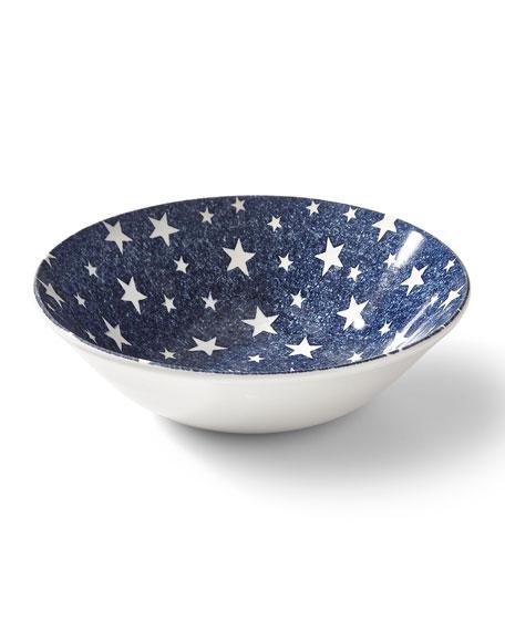 Ralph Lauren Home Midnight Sky Cereal Bowl, Blue