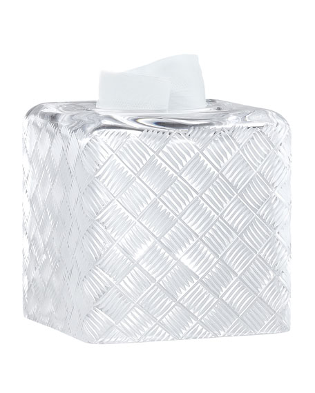 Labrazel Basket Weave Tissue Box Cover